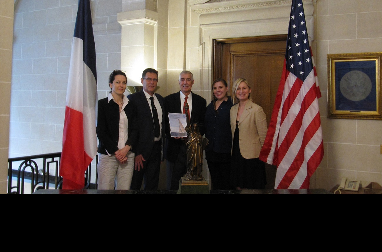 """Achieving Franco-American partnership for """"Ocean Challenge Live!"""""""