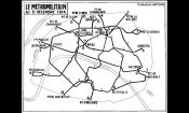map of Paris Metro lines in 1914 -AMTUIR