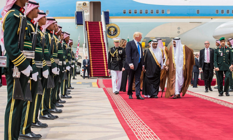 Le president Trump en Arabie Saoudite(© Bandar Algaloud/Saudi Royal Council/Anadolu/Getty)