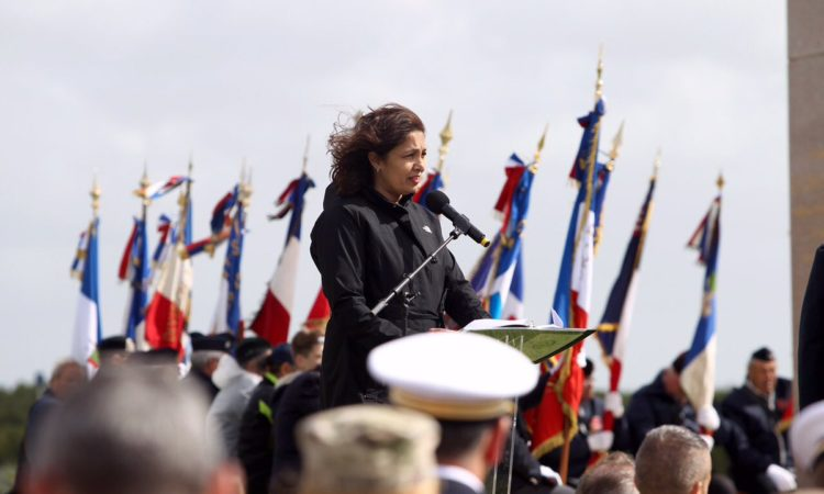Ceremonie internationale Utah Beach - 6 juin 2017
