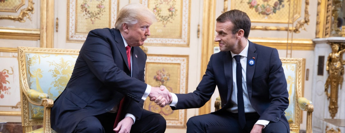 Remarks by President Trump and President Macron of France